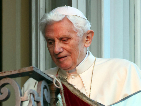 Pope Emeritus Benedict 'relieved to no longer have the weight of the Church ... - National Post | The Catholic Church | Scoop.it