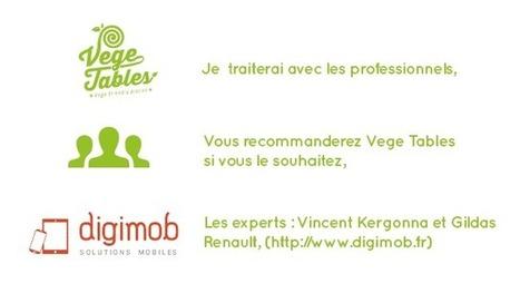 Vege Tables ! | Espace des Solutions 2.0 | Scoop.it