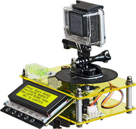 Arduino Time-Lapse Panorama Controller | Open Source Hardware News | Scoop.it