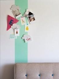 DIY : Une frise adhésive originale & colorée pour dynamiser sa déco ! | decoration chambre enfant | Scoop.it