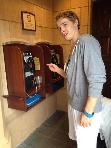 Tweet from @MichaelaCarte16 | New Uses for Public Phones | Scoop.it