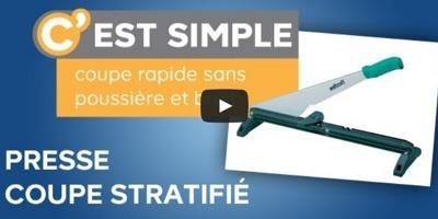 Démonstration presse coupante pour sols stratifiés | Bricolage et rénovation | Scoop.it