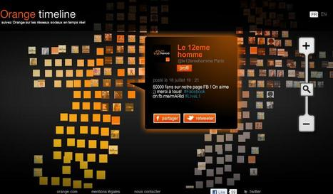 Orange tente de fédérer tous ses comptes twitter - Les Échos | Chrysalyde 11 | Scoop.it