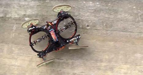 Disney's robot car drives up walls | relevant entertainment | Scoop.it