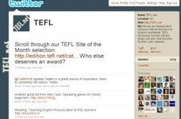 Top 10 things English teachers do on Twitter | A noobs guide to tefl | ICT4EFL | Scoop.it