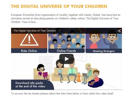 Digital Universe of Your Children | Be  e-Safe | Scoop.it