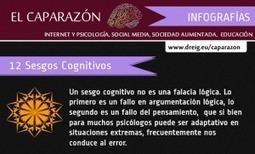 12 sesgos cognitivos en una Infografía | Docentes:  ¿Inmigrantes o peregrinos digitales? | Scoop.it