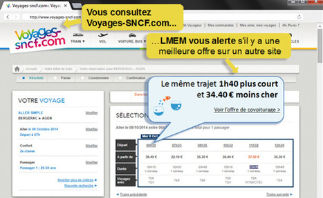 L'extension web qui courcircuite la SNCF, Amazon et la FNAC | Machines Pensantes | Scoop.it