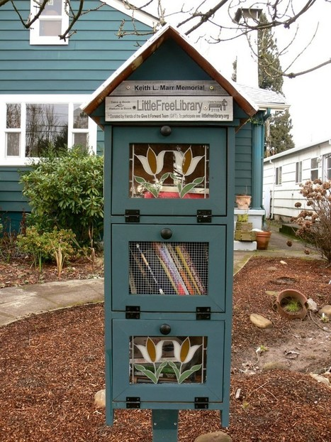 Les petites bibliothèques libres bâtissent des communautés et leur littéracie | Little Free Libraries: Building Community & Spreading Literacy | Library & Information Science | Scoop.it