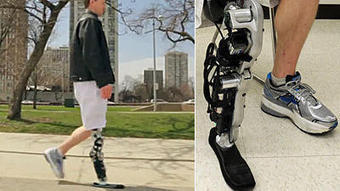Bionic leg is controlled by brain power | Future set | Scoop.it