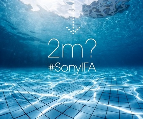 The Gadget Code: Sony teasers continue: Sony Xperia Z3 can take a 2 metre Dip with ease | Technology | Scoop.it
