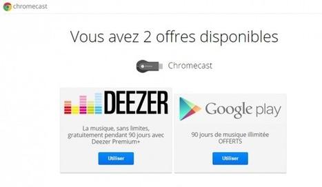 [Tutoriel] Comment activer les offres Google avec le Chromecast ?   Web Pratique   Scoop.it