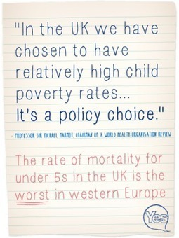 """The Westminster """"Policy Choice"""" – High Child Poverty Rates 