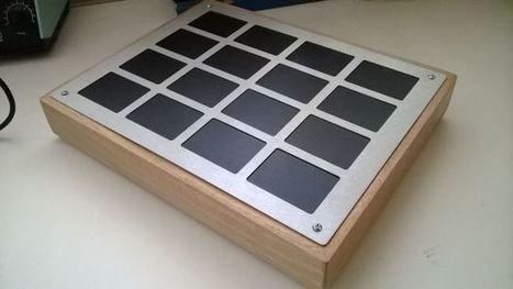 RADIX16 Laptop Touchpad Matrix MIDI controller - scottmetoyer.com | Experimental music software and hardware | Scoop.it