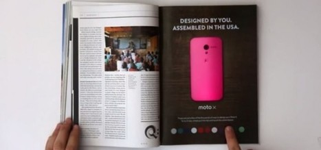 Interactive print could breathe new life into travel agent brochures [VIDEO] | Travelled | Scoop.it