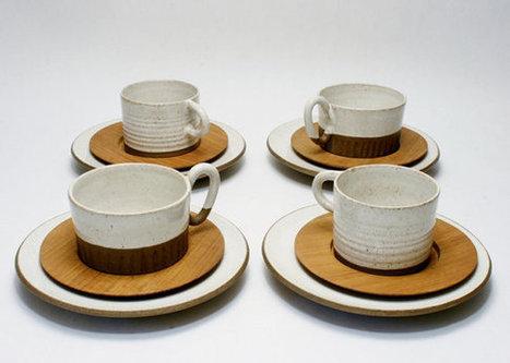 Sture G. Ohlsson (1904 - 1983) Studio Pottery Sweden Modernism Cups Saucers Plates Vintage Modern Art Ceramics Scandinavian Eames Era   S U B L I M E * D E S I G N   Scoop.it