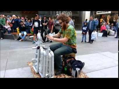 Even Better Than The Real Thing! Jake Clark AKA The Pipe Guy Plays A Set Of Techno, House And Trance On PVC Pipes. Awesome! | HotHotter | Scoop.it