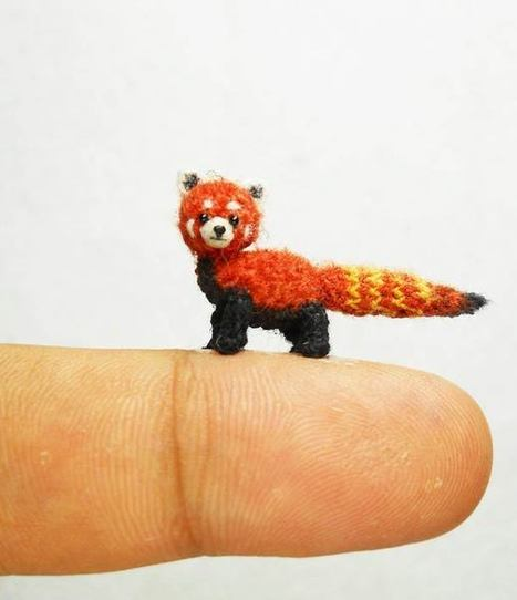 Tiny Animals – The world's smallest stuffed animals…   Culture and Fun - Art   Scoop.it