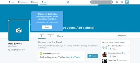 Twitter Launches New Profile Pages on the Web | Social | Scoop.it