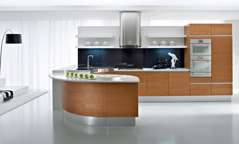 Ultra gloss white kitchen cabinets at New Jersey by Pedini USA | Pediniusa | Scoop.it