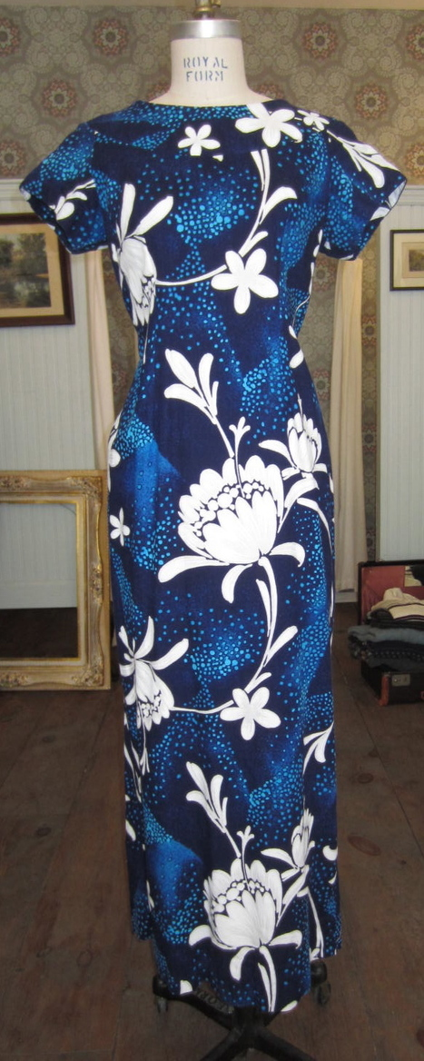 Product of the Day | Vintage Hawaiian Maxi Dress, Antoinette, Williamsburg | Spotlight | New York Boutiques | Scoop.it
