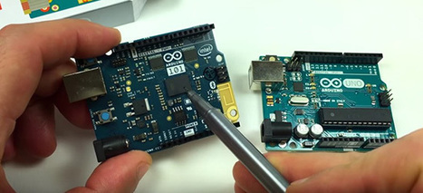 From the Arduino community: unboxing and setup of Arduino 101 | Arduino, Netduino, Rasperry Pi! | Scoop.it