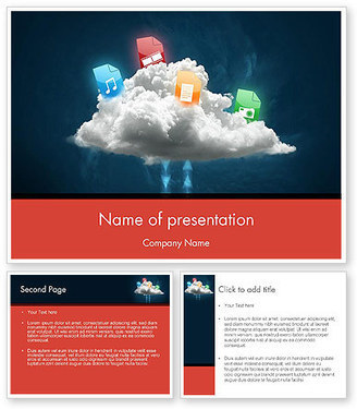 Cloud Exchange PowerPoint Template | PowerPoint Presentations and Templates | Scoop.it