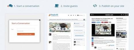 replyall, una excelente forma de mostrar un debate en tu sitio web | Educacion, ecologia y TIC | Scoop.it