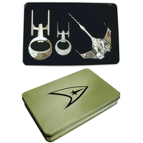 Star Trek Bottle Opener Set | All Geeks | Scoop.it