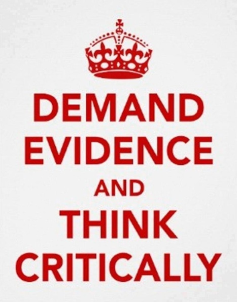 Demand evidence and think critically | Anonymous ART of Revolution | ScienceStuff | Scoop.it