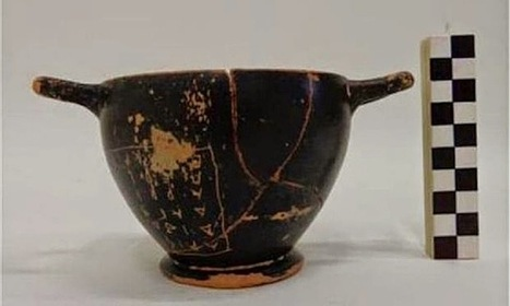 The Archaeology News Network: Wine-cup used by Pericles found in ancient grave   Teaching history and archaeology to kids   Scoop.it
