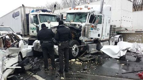 Multiple accidents in snow close Interstate 78, Pennsylvania Turnpike | Snyder & Wiles, PC, Personal Injury | Scoop.it