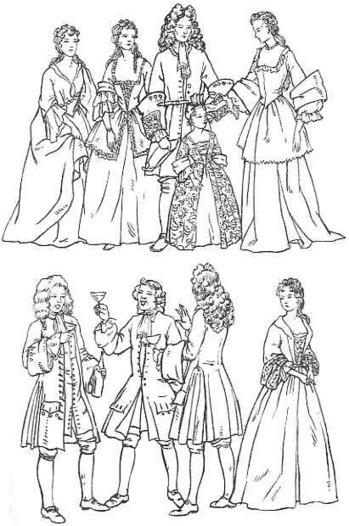 Clothing 1700 - 1735 | British History - 18th Century | Scoop.it