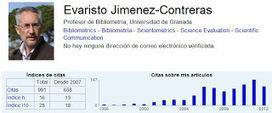 EC3noticias: Cómo gestionar tu impacto científico: alertas y perfiles   EC3   Scoop.it