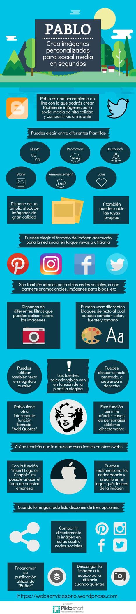 Pablo | Herramienta para crear contenidos visuales para tus redes sociales | ED|IT| | Scoop.it