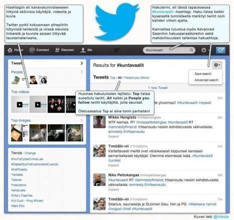 Twitter-opas vasta-alkajille | Tarkkaamo | Twitter - perustietoa, vinkkejä ja linkkejä | Scoop.it