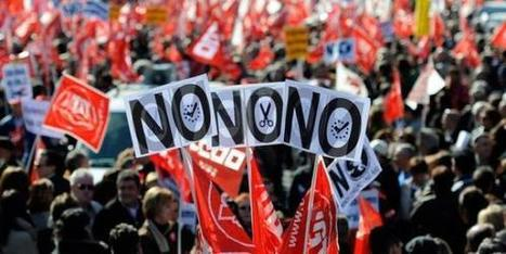 Nouvelles journées de grève générale en Europe contre l'austérité | Humanite | Union Européenne, une construction dans la tourmente | Scoop.it
