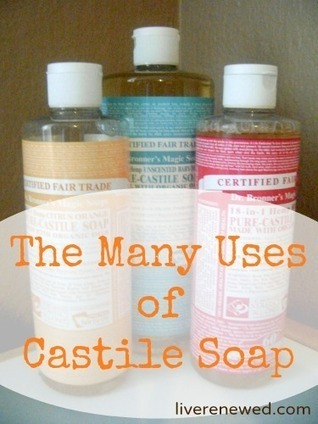 How to Use Castile Soap | Beat Allergic Rhinitis and Allergies Naturally | Scoop.it