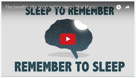 Free Technology for Teachers: Remember to Sleep - A Lesson for Students | Professional Learning for Busy Educators | Scoop.it