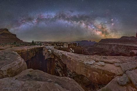 Musselman Arch, Canyonlands National Park and the Arching Milky Way | Geology | Scoop.it