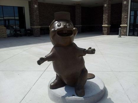 Don't Miss The Bronze Beaver On Your way to San Antonio | Visit San Antonio, Texas | Scoop.it