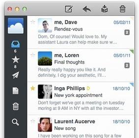 @sparrow — Get mail done! | Emerging Digital Workflows [ @zbutcher ] | Scoop.it