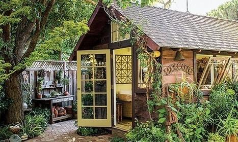 Garden shed becomes a backyard retreat - MSN Real Estate | Backyard sheds | Scoop.it