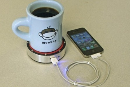Coaster Powers Phones Using Hot Or Cold Drinks - PSFK | Trends1 | Scoop.it