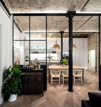 Rénovation d'une ancienne boulangerie en appartements contemporains | AmenagementDesign | Scoop.it