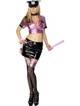 Ladies Fever Pink Police Officer Fancy Dress Costume | Fancy Dress Ideas | Scoop.it