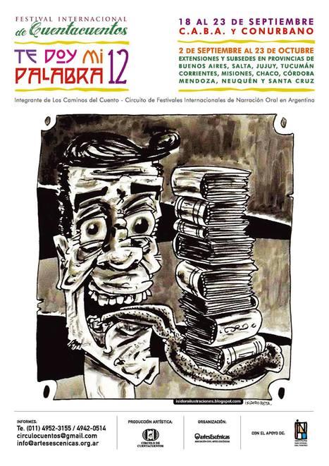 Del 18 al 23 de septiembre: Te doy mi palabra 2013 - Festival Internacional de Cuentacuentos (CABA y Conurbano) | animación a la lectura | Scoop.it