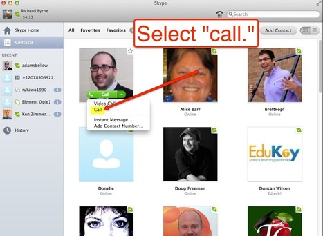 Free Technology for Teachers: How to Record Audio Interviews With Skype and QuickTime | PLN.gr | Scoop.it