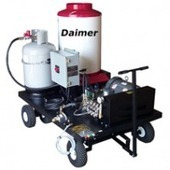 Daimer®'s First Pressure Washers Powered, Heated by Butane | All your Steam Cleaning Applications Answered | Scoop.it