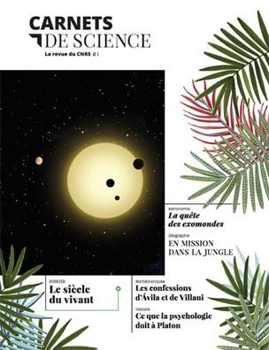 Le CNRS lance la revue Carnets de science - Communiqués et dossiers de presse - CNRS | Newsletter @ Idemec | Scoop.it